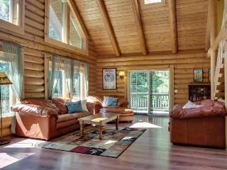 Quiet dog-friendly cabin with space for 10, private hot tub!, Welches