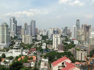 Thai Luxury 2BR Pure center on mrt/bts, crazy view, Bangkok