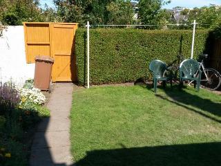 Sunny private garden