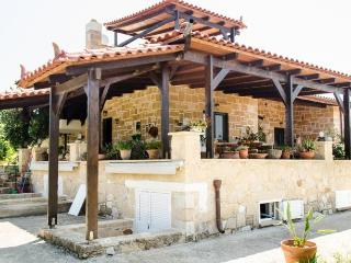 THALIA's traditional country villa in olive trees