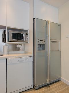 Dish washer and large Samsung fridge with ice maker