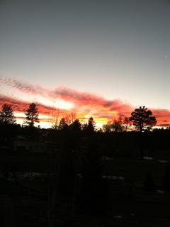 Beautiful Flagstaff skies at dusk!