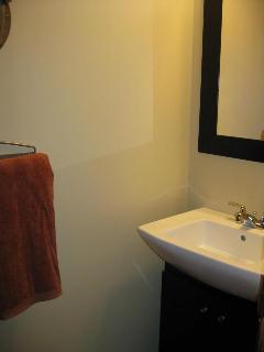 2 piece bathroom on main floor