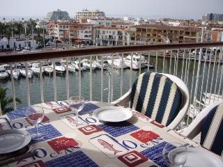 0161-PORT GREC Apartamento con vista al canal y al mar