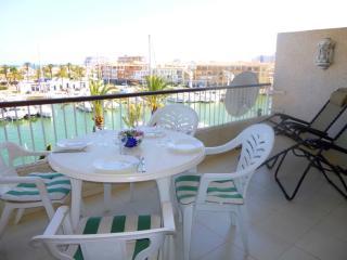 0159-PORT GREC Apartamento con vista al canal y al mar