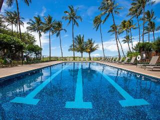 Waiohuli Beach Hale #B-206 Ocean View Oceanfront 1Bd/1Ba Great Rates Sleeps 4