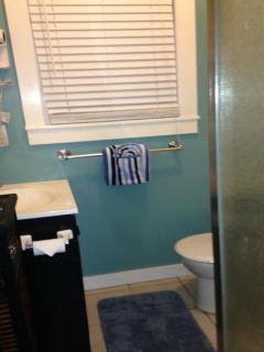 Pilar bathroom