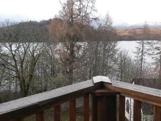 2 bedroom wooden lodges Southside Loch Awe