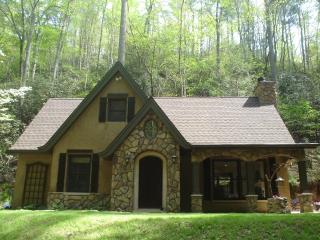 LUXURY StoryBook Cottage on 5 SECLUDED ACRES SURROUNDED by STREAMS
