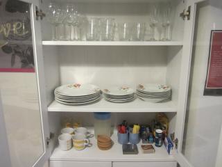 New kitchen dishes, etc.