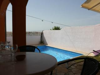 View on swimming pool from Apartment N°4