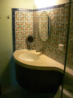 Custom made talavera tiles