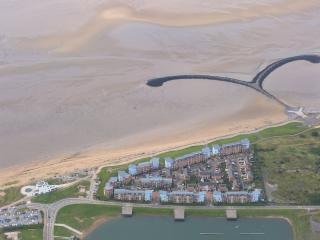 Millennium Quay from the air