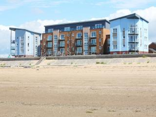 Apartment from the sandy beach