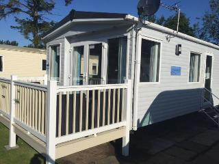 Luxury  Platinum caravan hire at Haggerston Castle, Berwick upon Tweed