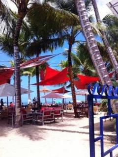 One of numerous Beach Restaurants