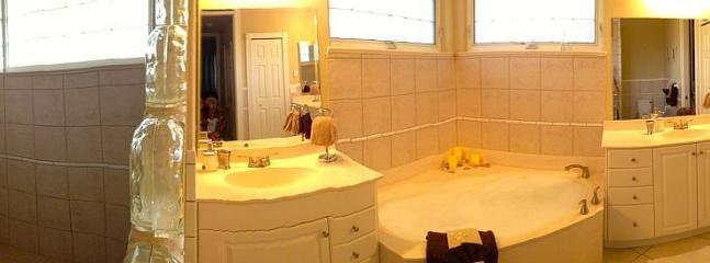 Big master bathroom