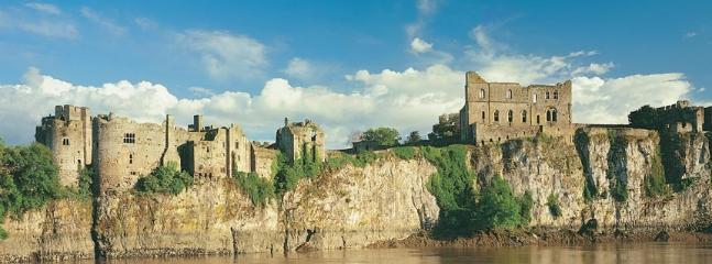 the Spectacular Chepstow Castle - building commenced in 1067