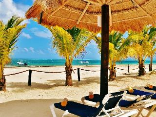 ARRECIFES, 1BR, Beach Front, with Pool, Puerto Morelos