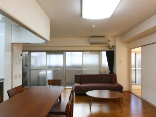 Spacious Condo in Higashiyama; Kitchen/ FREE WiFi/ near GION, Kioto