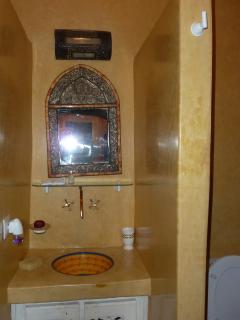 salle de douches wc
