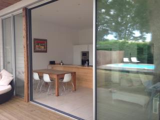 Modern Villa w Heated Pool nr Hossegor