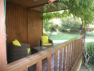 Terrasse privative Le Chalet