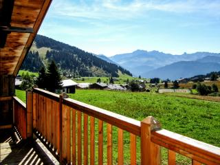 French Alps chalet with huge garden, Hauteluce