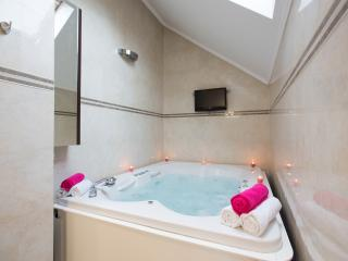 Luxury apartment with a bigest Jacuzzi in town