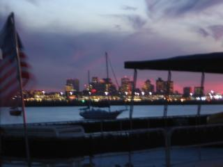 Houseboat in Boston Harbor