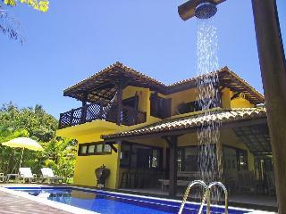 Edy villa à beira-mar de casa na Praia do Forte