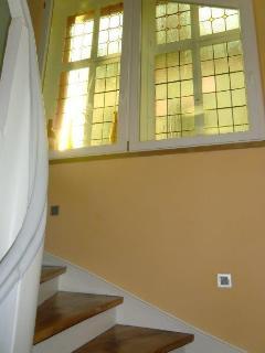 Restauriertes Treppenhaus