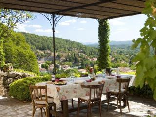 The dream of Provence with beautiful view, Cotignac