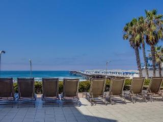 Dog-friendly condo steps from the beach & boardwalk w/ shared hot tub!