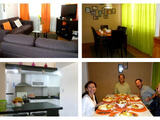 Living room-Dining room-Kitchen make yourself at home.