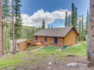 Magnificent log home w/views of Quandary Peak from inside & outside!