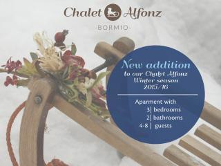 Chalet Alfonz - New 3 bedrooms apartment in Bormio