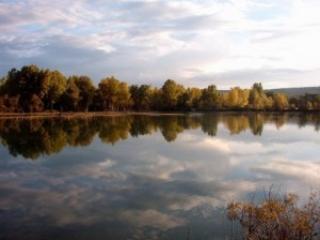 Lago di Montedoglio famoso per la pesca al luccio