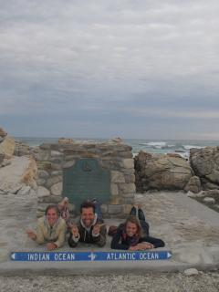 Attraction: Cape Agulhas where two oceans meet