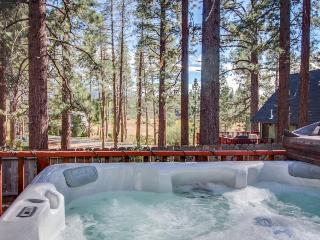 Hot tub, game room, deck with grill, and centrally located!