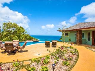 Amazing Oceanfront With Cliffside Infinity Pool, Princeville