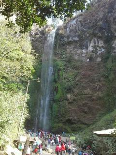 Coban rondo waterfalls just about 20 minutes away from the villa