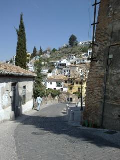 casa vista desde cuesta Zenete