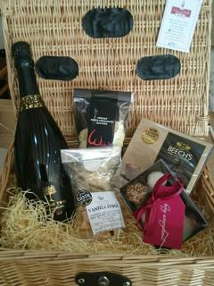 Hampers available for an additional fee
