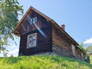 Lovely Wooden Log Cabin Dubrava