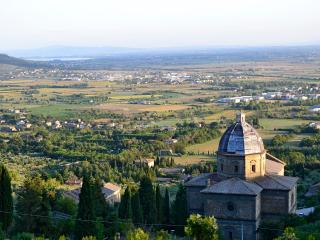 Appartamento Luna-great view & beautiful position, Cortona