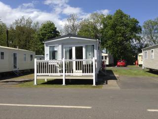 Luxury  Platinum caravan hire at Haggerston Castle