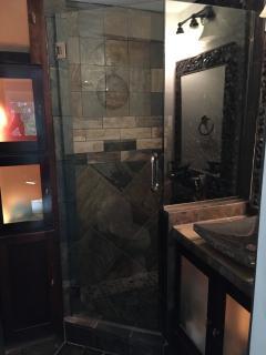 Office/pool bathroom