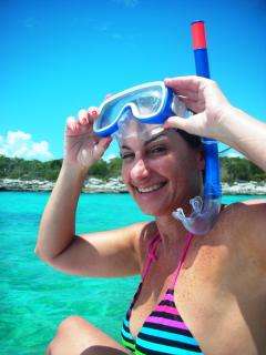 The most popular sport in Exuma? Snorkelling!! And you'll see Why!!