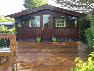 Snowdonia log cabin chalet Wales beaches, Certificate of Excellence last 2 years